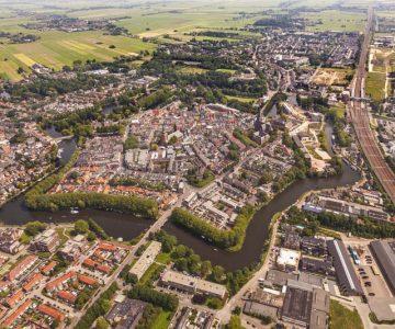 luchtfoto Woerden 2